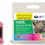 HP300 COL CC643EE Black Remanufactured Ink Cartridge by JetTec – H300C