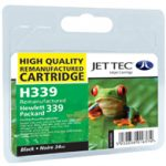 HP339 C8767EE Black HC Remanufactured Ink Cartridge by JetTec – H339