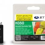 HP350 CB335EE Black Remanufactured Ink Cartridge by JetTec – H350