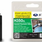 HP350XL CB336EE Black Remanufactured Ink Cartridge by JetTec – H350XL