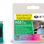 HP351XL CB338EE Colour Remanufactured Ink Cartridge by JetTec – H351XL