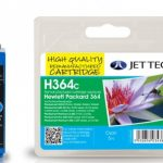 HP364 CB318EE Cyan Remanufactured Ink Cartridge by JetTec – H364C