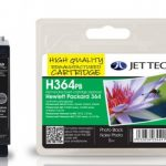 HP364 CB317EE Photo Black Remanufactured Ink Cartridge by JetTec – H364PB