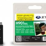 HP901XL CC654AE Black Remanufactured Ink Cartridge by JetTec – H901BXL