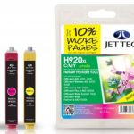 HP920XL CMY MULTIPACK Remanufactured Ink Cartridge by JetTec – H920CMYXL