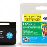 HP933XL Cyan Remanufactured Ink Cartridge by JetTec – H933CXL