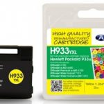 HP933XL Yellow Remanufactured Ink Cartridge by JetTec – H933YXL