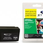 HP950XL Black Remanufactured Ink Cartridge by JetTec – H950BXL