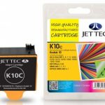 Kodak 10C Colour Compatible Ink Cartridge by JetTec – K10C