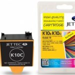 Kodak 10B Black & 10C Colour Multipack Compatible Ink Cartridge by JetTec – K10B/K10C