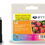 Lexmark No. 2 Remanufactured Ink Cartridge by JetTec – L2