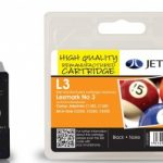 Lexmark No.3 Remanufactured Ink Cartridge by JetTec – L3