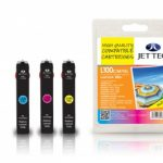 Lexmark 100XL Multipack Remanufactured Ink Cartridge by JetTec – L100XLCMY