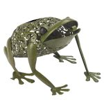 Smart Garden Solar Metal Novelty Frog Light, 26cm