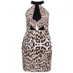 Finders Keepers Womens Leopard Bring Paradise Dress