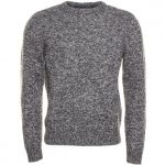 Original Penguin Mens Phantom Richard Crew Knitted Jumper