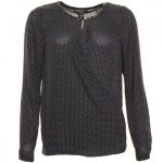 Maison Scotch Womens Black Wrapover Blouse
