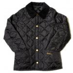 Barbour Boys Black Heritage Liddesdale Quilted Jacket