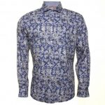 Jiggler Lord Berlue Mens Blue Field L/s Shirt