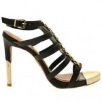 Moda In Pelle Womens Black Rainey Sandals