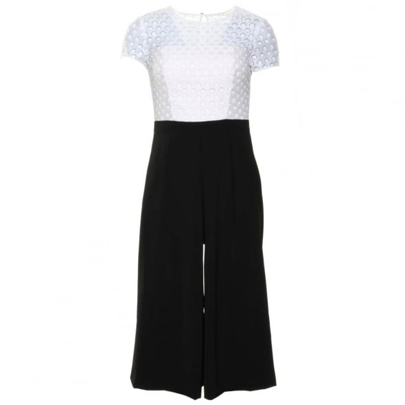 c4b8f4f23 Ted Baker Womens White Brienaa Cropped Jumpsuit