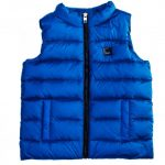 Armani Junior Boys Blue Down Filled Gilet