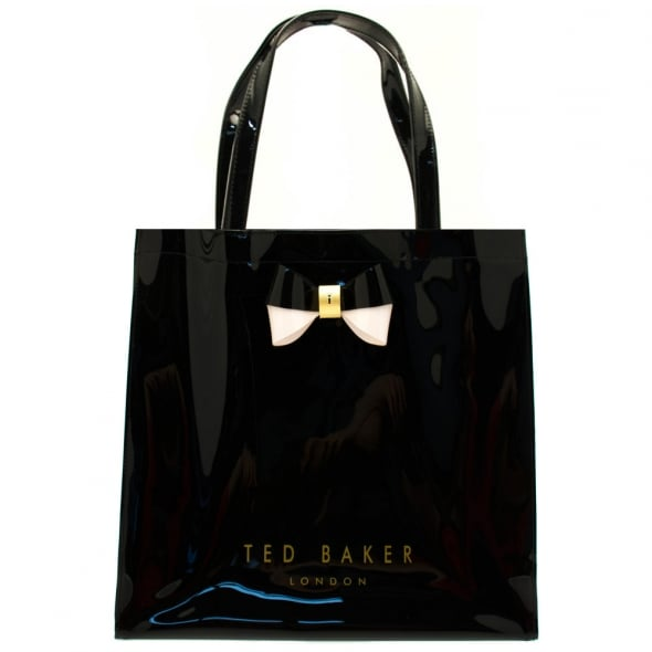 27424ec47305 Ted Baker Womens Black Elacon Large Icon Bag