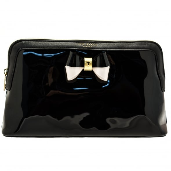 41b09650eae6 Ted Baker Womens Black Madlynn Large Wash Bag
