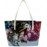 Ted Baker Womens Powder Blue Floryia Shopper Bag