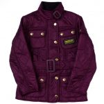 Barbour Girls Merlot International Quilted Jacket