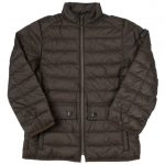Barbour Boys Olive Crossover Quilted Jacket
