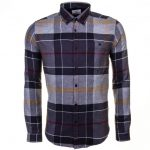 Barbour Heritage Mens Modern Tartan Johnny Slim Fit L/s Shirt