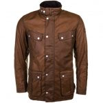 Barbour International Mens Tan Duke Waxed Jacket