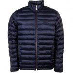 Barbour Heritage Mens Navy Templand Baffle Quilted Jacket