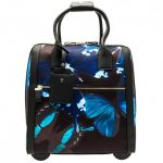 Ted Baker Womens Black Talulla Butterfly Collective Travel Bag