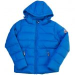 Pyrenex Boys Cyan Spoutnic Hooded Matte Jacket (8yr+)