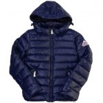 Pyrenex Girls Amiral Spoutnic Hooded Shiny Jacket (8yr+)