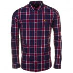 Lyle & Scott Mens Ruby Check L/s Shirt