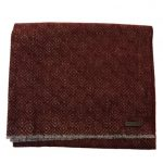 Ted Baker Mens Dark Red Mayfair Geo Printed Scarf