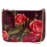 Ted Baker Womens Grape Malisa Juxtapose Rose Cross Body Bag