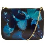 Ted Baker Womens Black Albany Butterfly Collective Cross Body Bag
