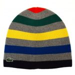 Lacoste Boys Assorted Striped Knitted Hat