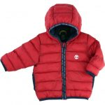 Timberland Baby Red Hooded Puffer Jacket