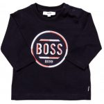 BOSS Baby Navy Circle Logo L/s Tee Shirt