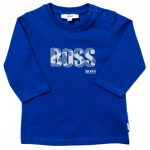 BOSS Baby Turquoise Branded L/s Tee Shirt