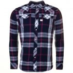G Star Mens Indigo & Dark Baron Tacoma Check L/s Shirt