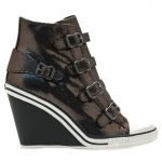 Ash Womens Mordore Thelma Wedge Trainers