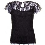 Vila Womens Black Vifermira Top