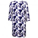 2nd Day Womens Sodalite Blue Rothko Dress
