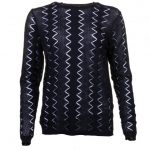 Y.A.S Womens Black Yasaylin Knitted Jumper